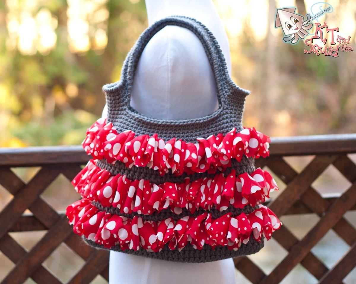 Sassy Ruffle Bag (free pattern)