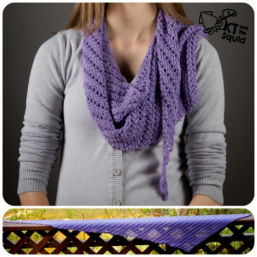 Main St. Shawl Free Crochet Pattern | KT and the Squid