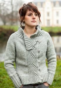 © Christal LK Lagertha by Christelle Nihoul (knit)