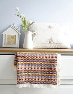 © Little Doolally Aida Baby Blanket by Little Doolally (crochet)