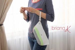 © Briana K Photography Clutch Wristlet Project Bag Purse by Briana K Crochet (crochet)