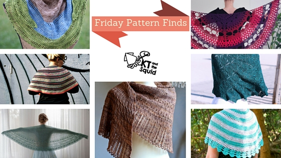 Friday Pattern Finds: Half Circle Shawls