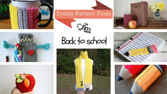 Friday Pattern Finds Back to School | KT and the Squid
