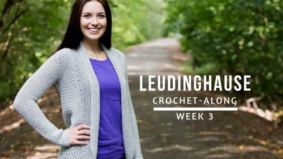 Leudinghause Crochet-Along: Week 3 | KT and the Squid