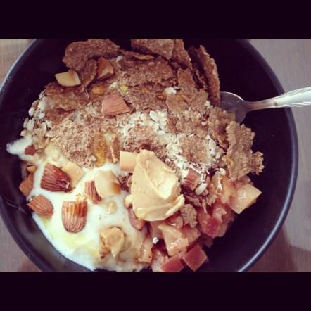 Last breakfast of 2012 & 1st meal of 2013