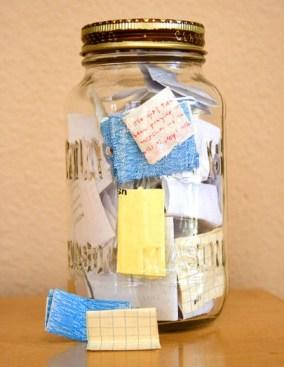 A Jar of Good Memories