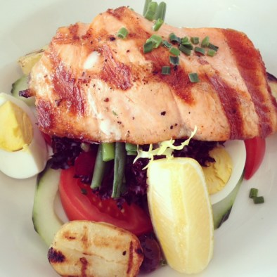 Salmon Nicoise Salad - Zoom (Off Marylebone High Street, London)