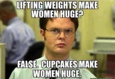 Cupcakes & weights