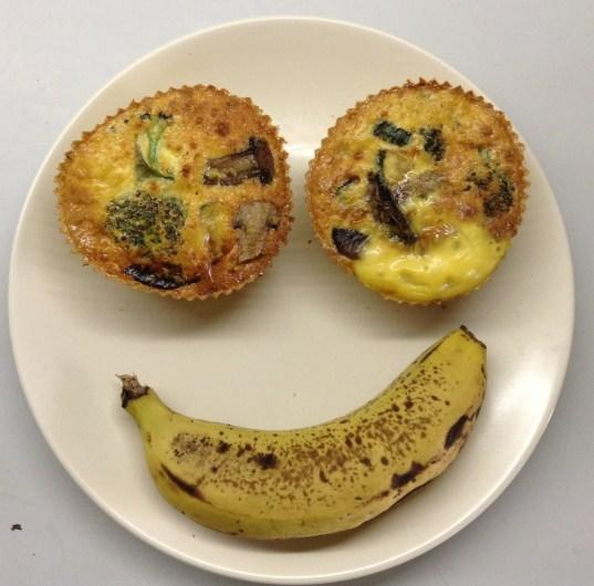 Banana & Fritatta Muffins