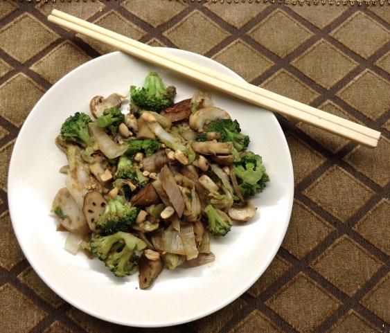 Peanut Stir Fry Chopsticks