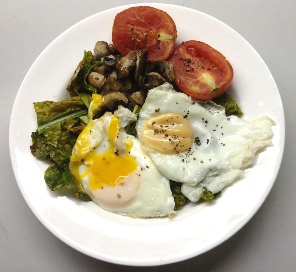 Sauteed Kale Breakfast Bowl2