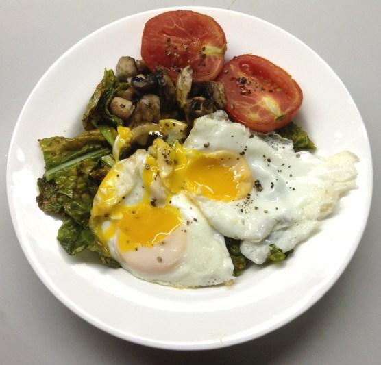 Sauteed Kale Breakfast Bowl4