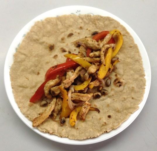Burrito filled