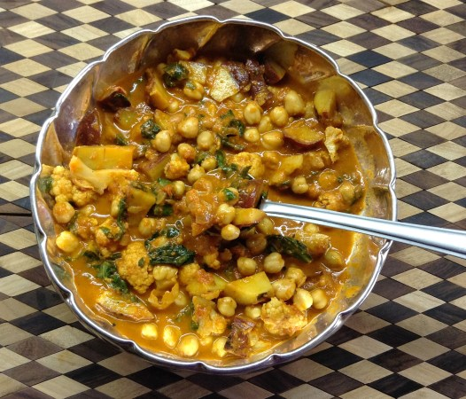 Sweet Potato & Chickpea Curry (2)