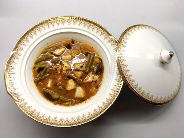 Tofu & veggie stew