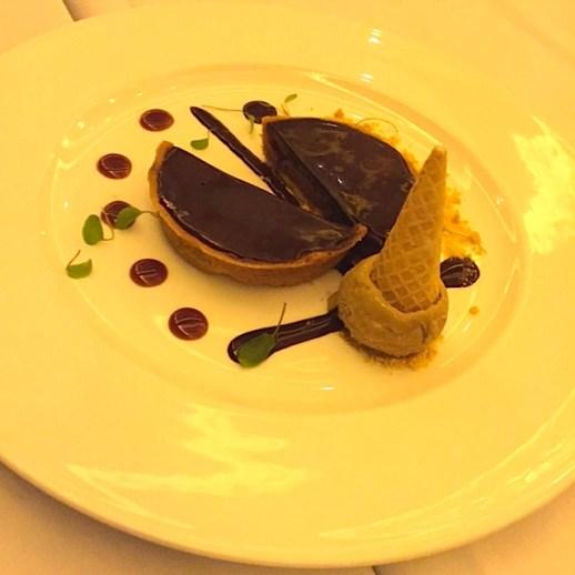 Chocolate PB tart- Christophers