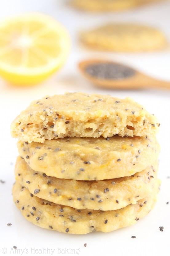 Lemon Chia Seed Cookies
