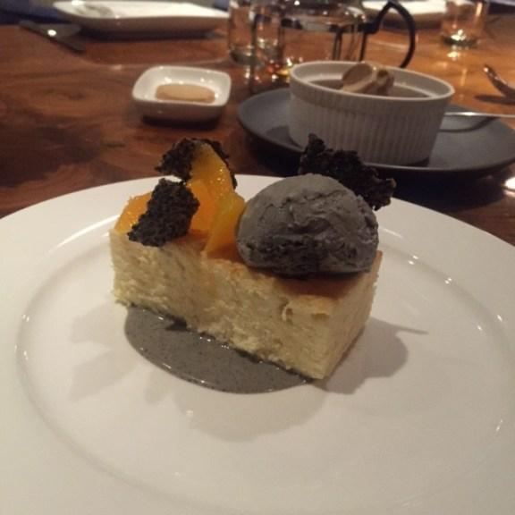 Japanese Sesame Cheesecake