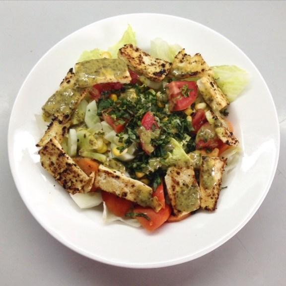 Thai Tofu Salad