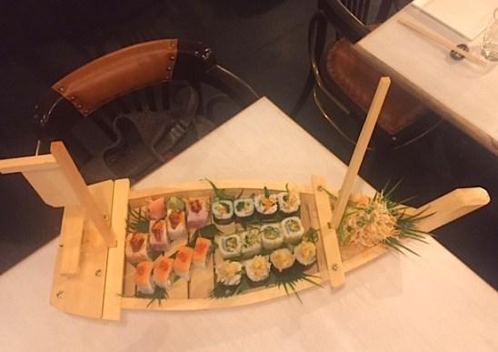 Tatami Sushi Boat