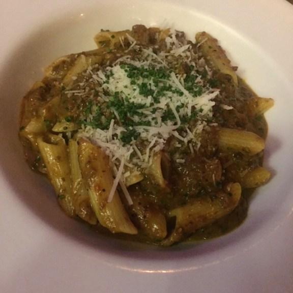 Cafe Zoe Penne Mushroom Ragout