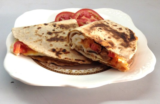 Egg-White-Cheddar-Quesadilla