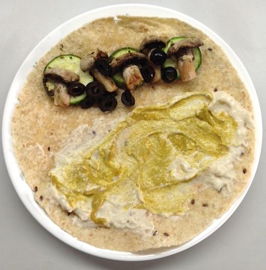 Vegan Quesadillas Hummus Mustard