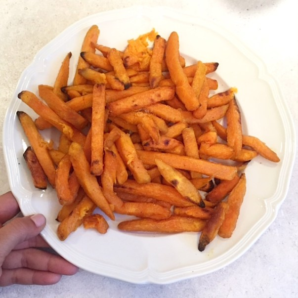 Sweet Potato Fries Plate