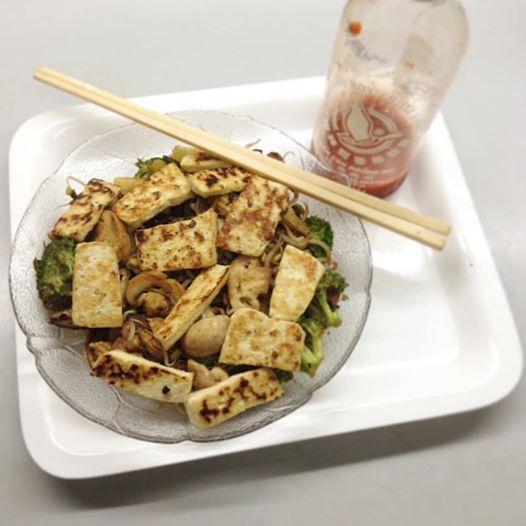 Tofu Stir Fry Sriracha