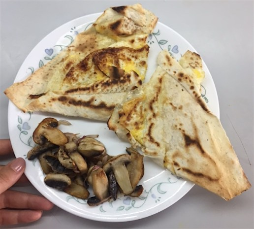 Egg & Cheese Quesadilla