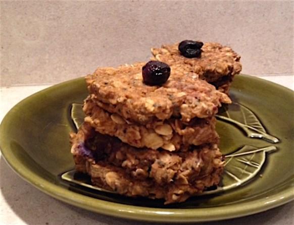 Vegan Blueberry Protein Pancakes