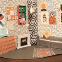 Ein Puppenhaus im Aktenordner - ein neues DIY Video