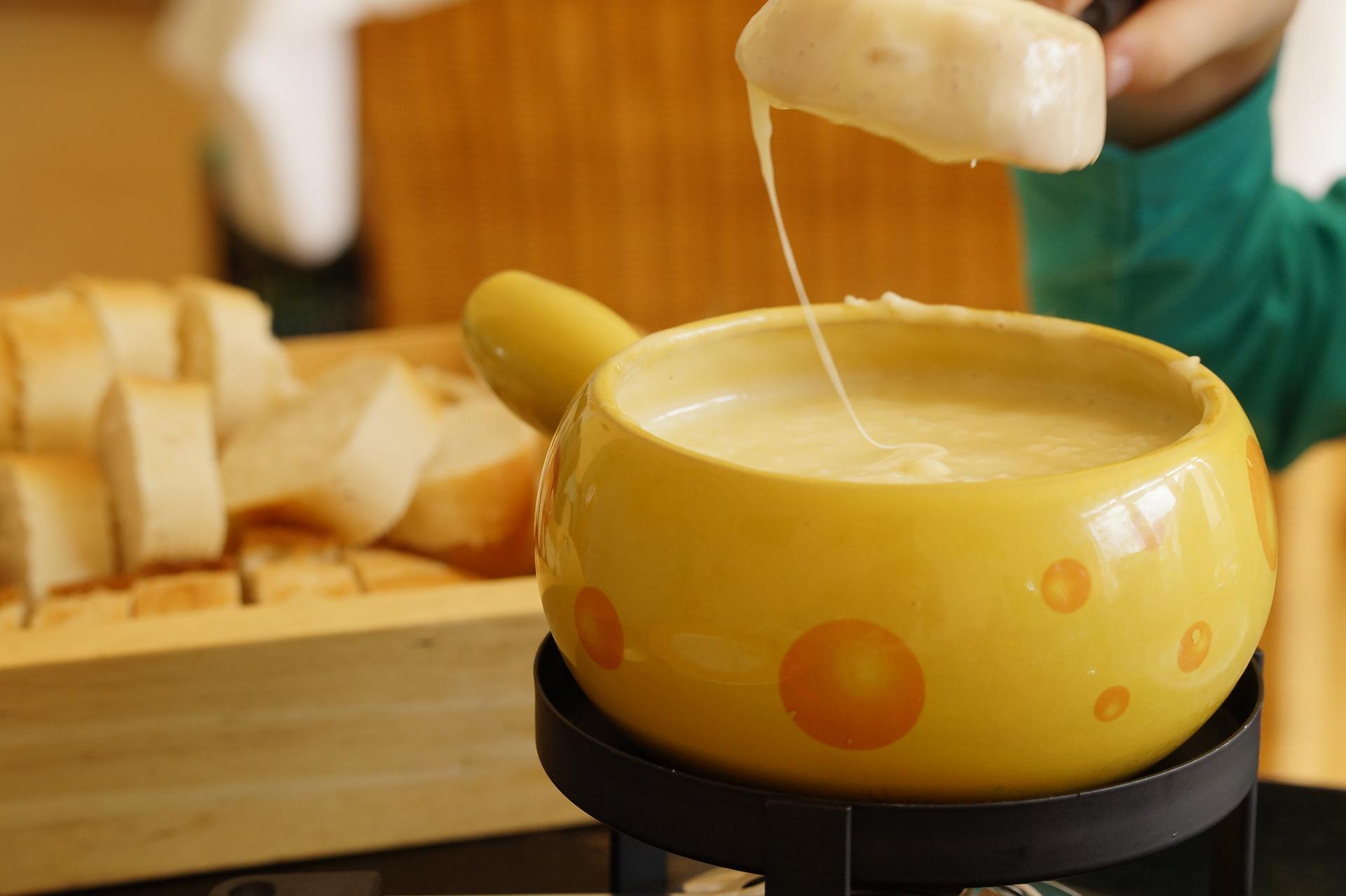 Käse-Champager Fondue Rezept