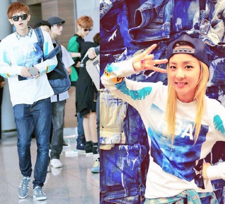 Dara park chanyeol 2014 dating 8
