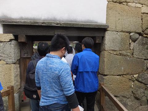 姫路城 水三門