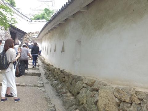 姫路城 狭間
