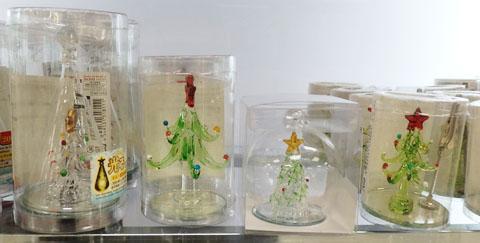 クリスマスツリー ガラス