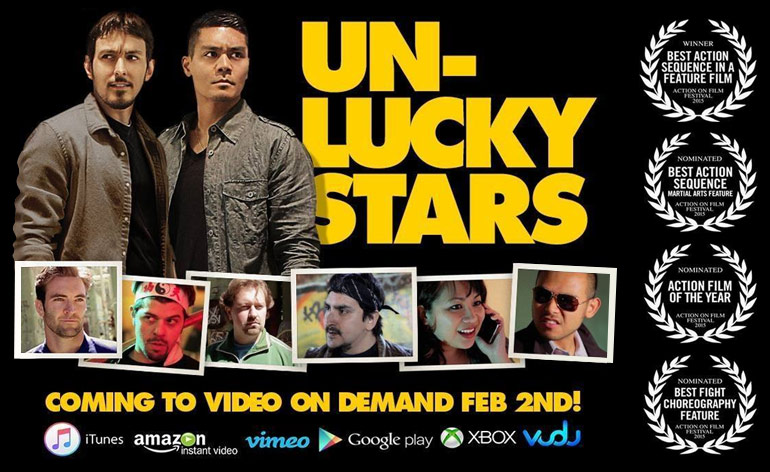 Unlucky Stars Released on VOD!