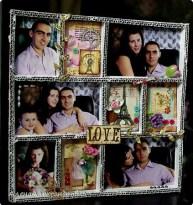Фотоколлаж семейный
