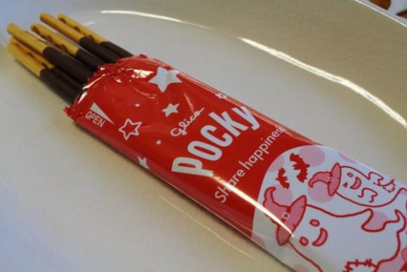 ハロウィン限定ポッキーチョコレート味個包装