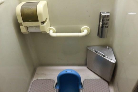 189系トイレ