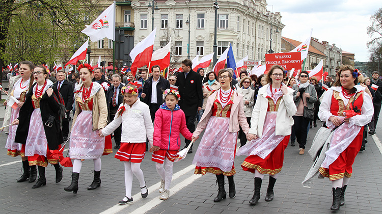 Grand celebration of Polish Diaspora and Poles Abroad Day in Vilnius