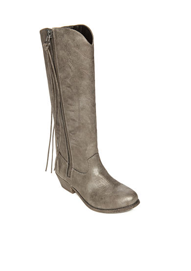 Pewter Western Boot