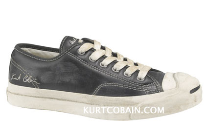 converse shoes kurt cobain