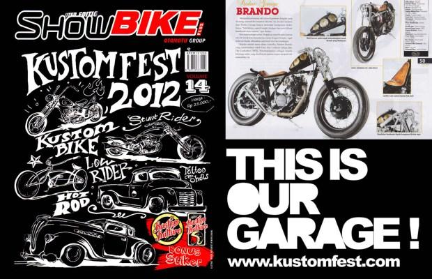 Brando - Kedux Garage KUSTOMFEST 2012