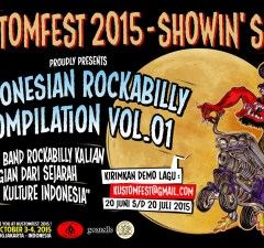 KUSTOMFEST ROCKABILLY INDONESIA - Feature