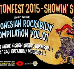 KUSTOMFEST 2015 - ROCKABILLY INDONESIA feature