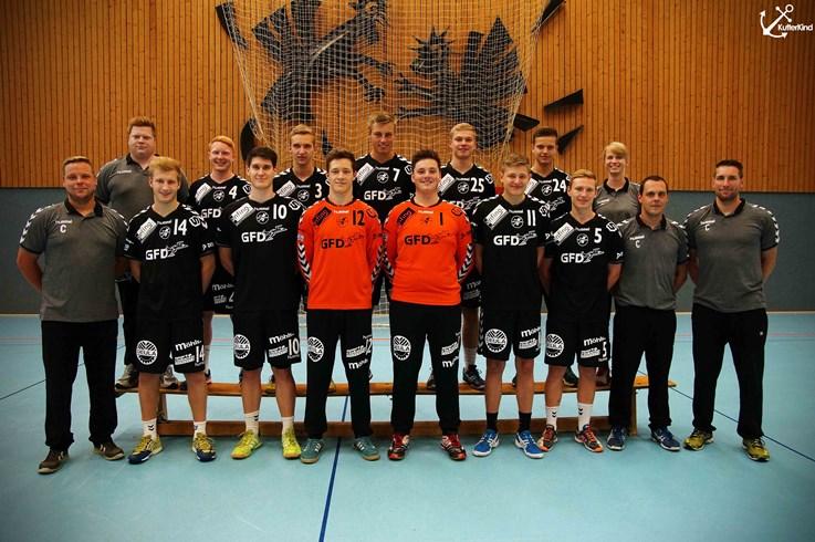 Mannschaftsfoto Bundesliga A-Jugend vom HSG Eider Harde - Dauerkarten