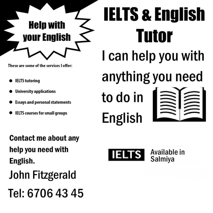 IELTS & English Tutor