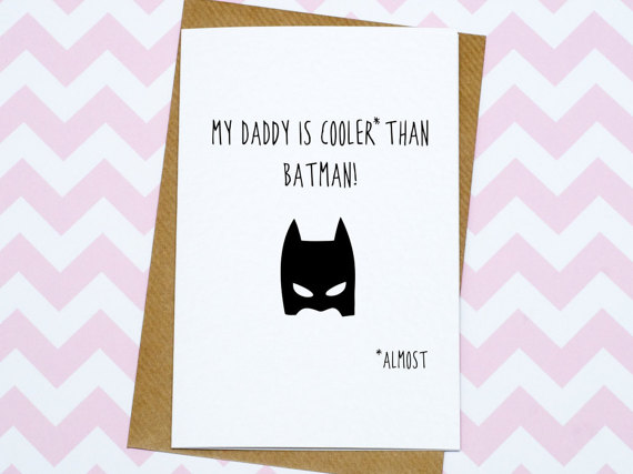 batman card